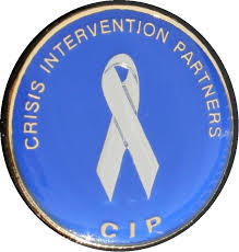 CIP Pin on white - 2