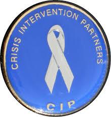 CIP Pin on white - 2